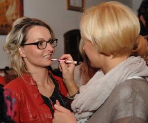 Pokaz makijażu - Joker Tychy Wrzesień 2011